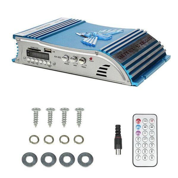 Amplificatore per auto con FM/USB/SD card 220W