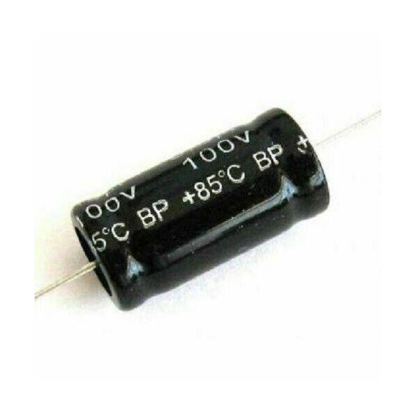 Condensatore 5,6uF 100V NP Non Polarizzato 85° Assiale 26x13mm per Tweeter