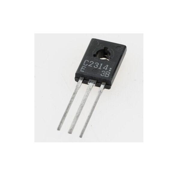 2SC2314 - 2SC 2314 - C2314 Transistor SI-N 45V 1A 5W