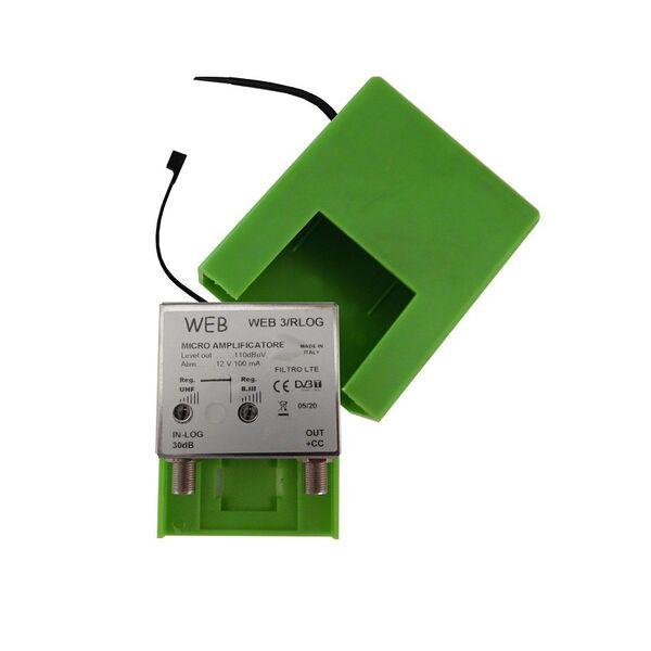 Amplificatore TV da palo 30 dB Web3 / Rlog