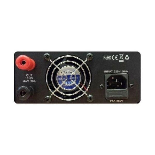 832NFA ALIMENTATORE 32 Amp SWITCHING PER RADIO CB HF VHF UHF KENWOOD, ICOM, YAESU