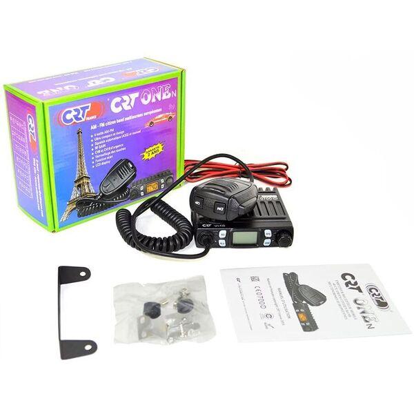 CRT One Export Ricetrasmettitore Radio CB per Camper Camion Fuoristrada
