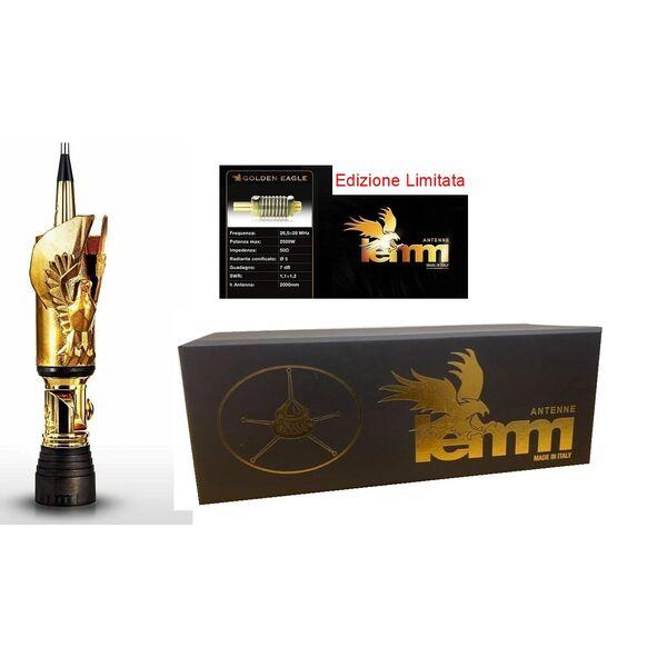 LEMM GOLDEN EAGLE Limited Antenna CB veicolare cortocircuitata