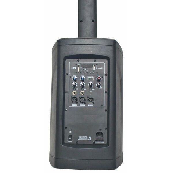 Impianto audio amplificato attivo a colonna MP3 Bluetooth