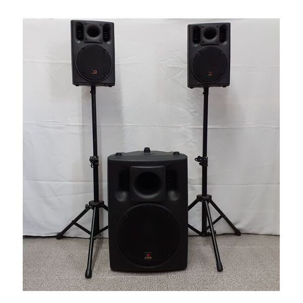 ENERGY US-800 2.1 IMPIANTO AUDIO AMPLIFICATO ATTIVO PROFESSIONALE